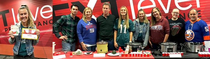 employees who prepared chili for the cookoff